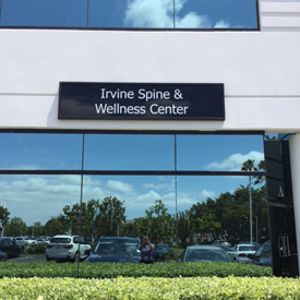 Irvine Spine and wellness center